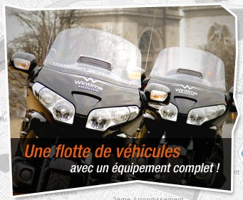 Bievenue chez wintime taxi moto